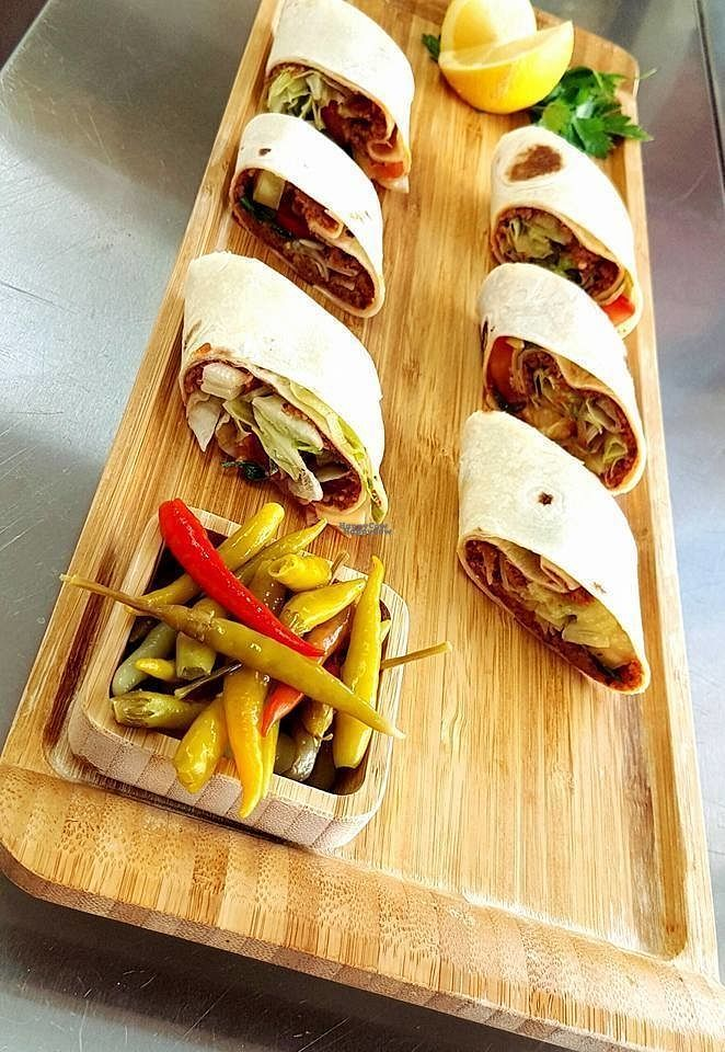 """Photo of Istanbul Cigkofte  by <a href=""""/members/profile/community"""">community</a> <br/>vegan wraps <br/> September 21, 2016  - <a href='/contact/abuse/image/79700/177106'>Report</a>"""