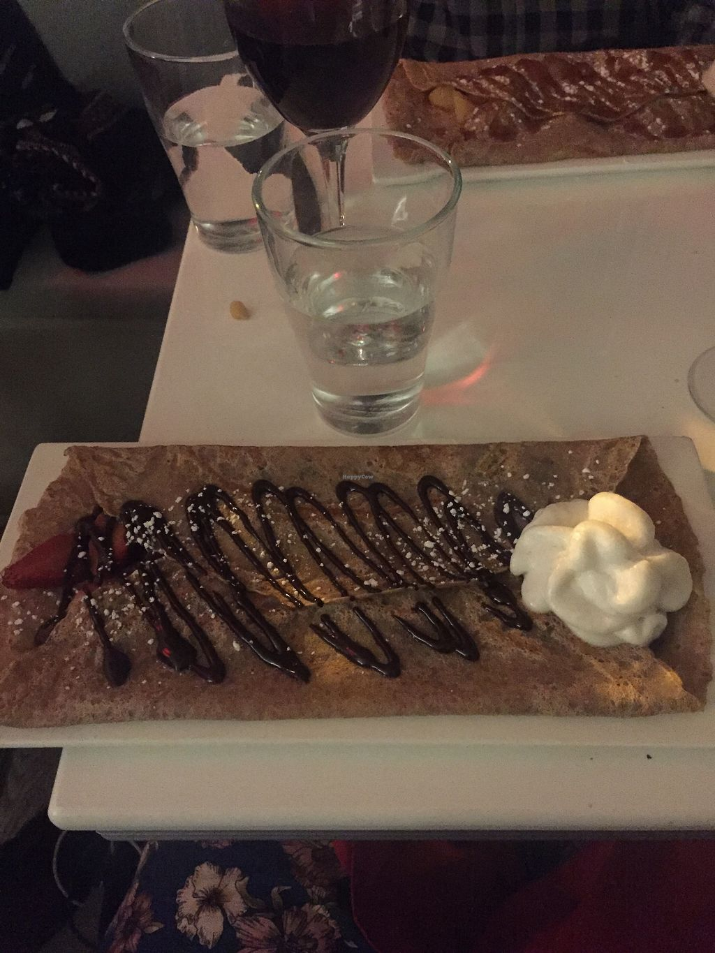 """Photo of Delice & Sarrasin  by <a href=""""/members/profile/KaitlynnGill"""">KaitlynnGill</a> <br/>Chocolate strawberry crepe! <br/> October 1, 2017  - <a href='/contact/abuse/image/79712/310595'>Report</a>"""