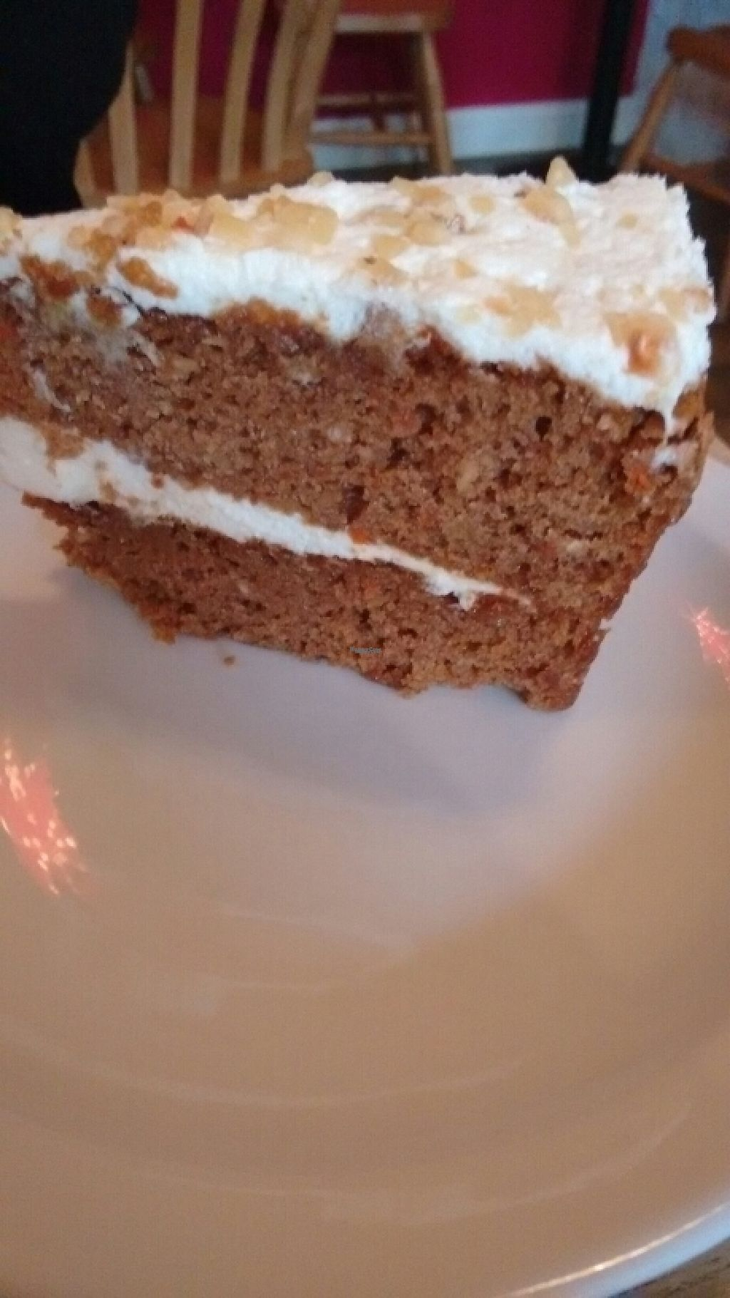 """Photo of Kat's Kitchen  by <a href=""""/members/profile/craigmc"""">craigmc</a> <br/>veggie carrot cake <br/> December 30, 2016  - <a href='/contact/abuse/image/79734/206202'>Report</a>"""