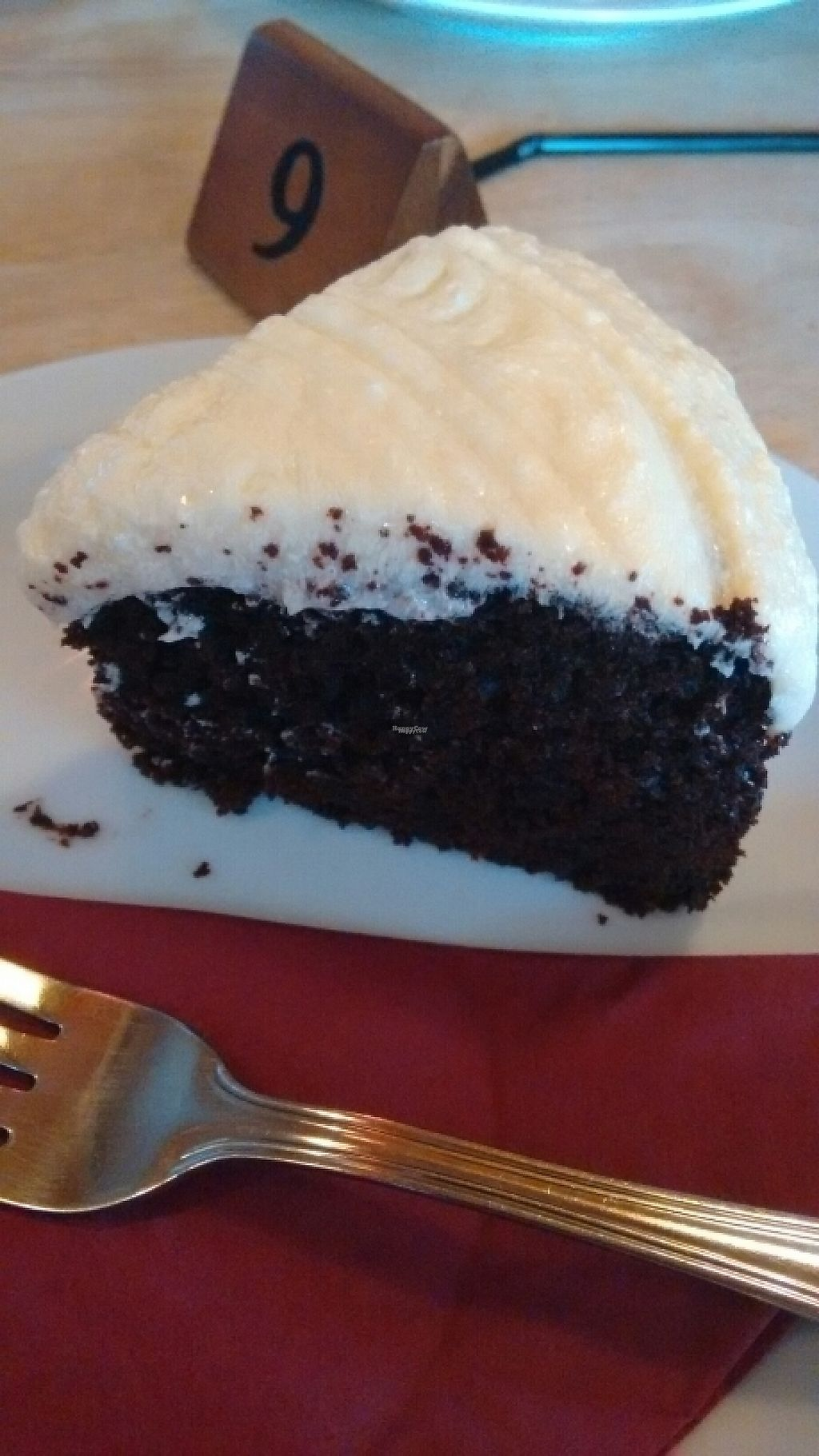 """Photo of Kat's Kitchen  by <a href=""""/members/profile/craigmc"""">craigmc</a> <br/>vegan chocolate cake with mint icing <br/> December 30, 2016  - <a href='/contact/abuse/image/79734/206203'>Report</a>"""