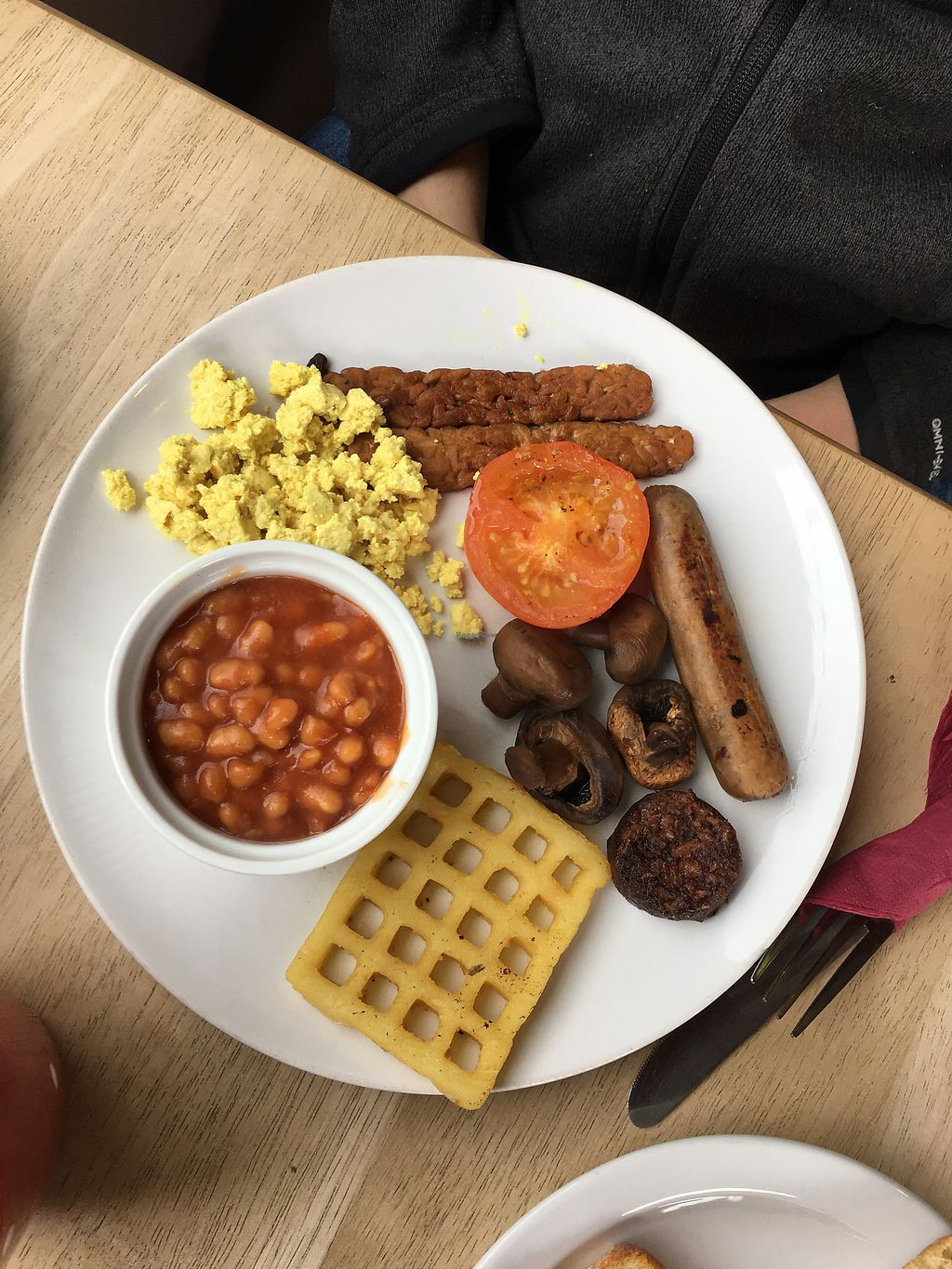 """Photo of Kat's Kitchen  by <a href=""""/members/profile/jessicaellenn"""">jessicaellenn</a> <br/>Vegan all day breakfast  <br/> June 29, 2017  - <a href='/contact/abuse/image/79734/274762'>Report</a>"""