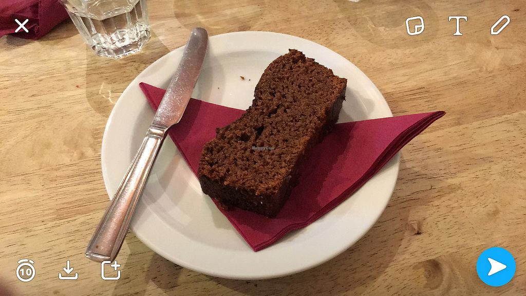 """Photo of Kat's Kitchen  by <a href=""""/members/profile/Imixle"""">Imixle</a> <br/>Vegan gingerbread cake <br/> August 29, 2017  - <a href='/contact/abuse/image/79734/298641'>Report</a>"""