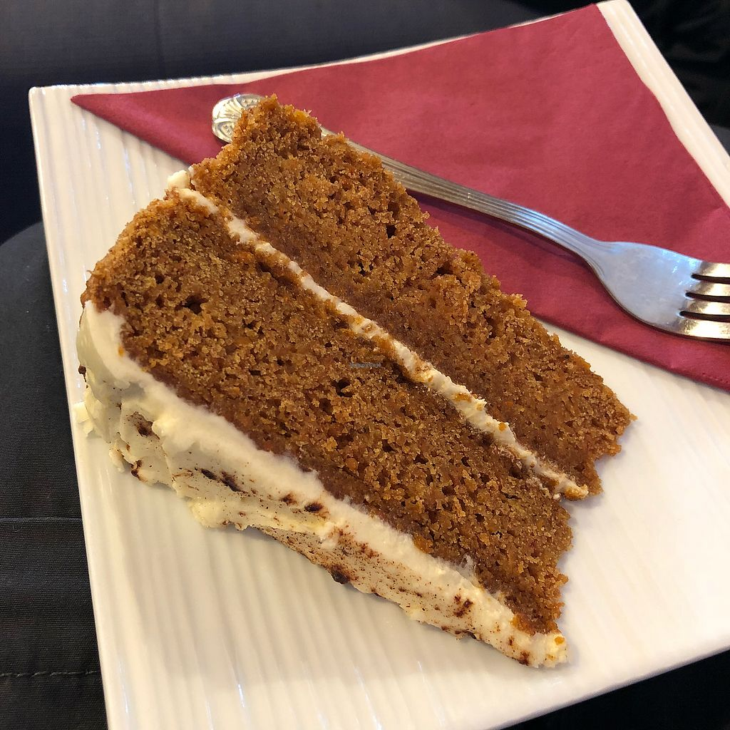 """Photo of Kat's Kitchen  by <a href=""""/members/profile/TheEverydayVegan"""">TheEverydayVegan</a> <br/>Carrot Cake <br/> February 11, 2018  - <a href='/contact/abuse/image/79734/357900'>Report</a>"""