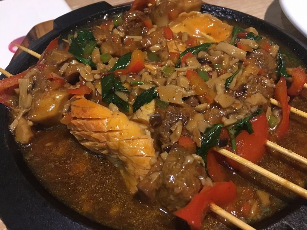 """Photo of Super Vegan - LianHua Commercial Center  by <a href=""""/members/profile/SP"""">SP</a> <br/>skewers <br/> December 12, 2017  - <a href='/contact/abuse/image/79735/334824'>Report</a>"""