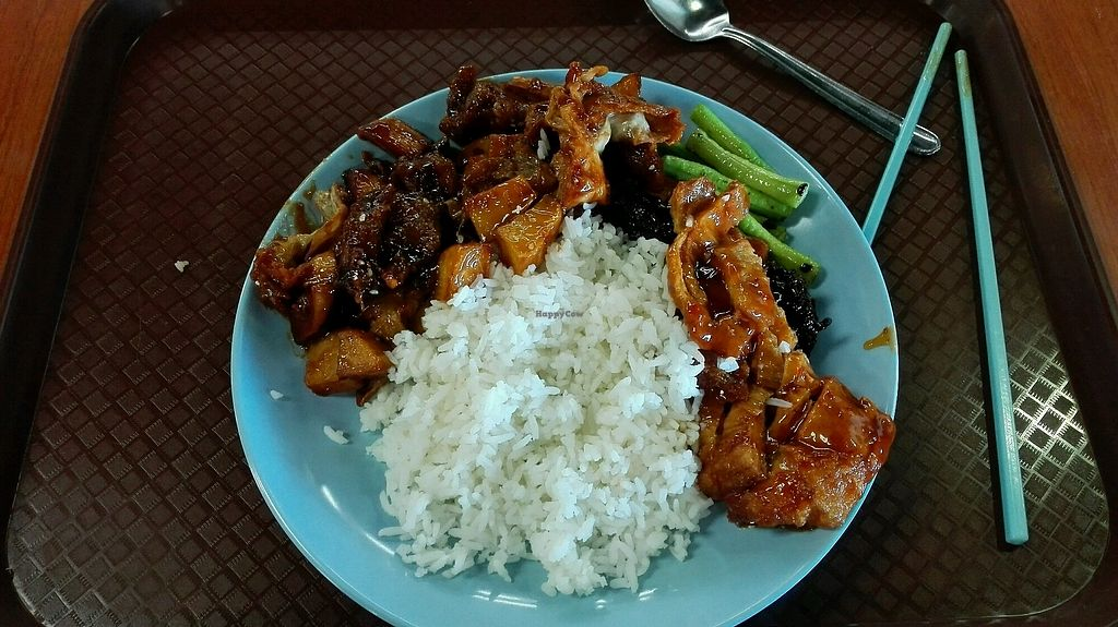 "Photo of Suria Food Court - Vegetarian Food    by <a href=""/members/profile/Miykoll"">Miykoll</a> <br/>rice + addons cost me MR15.50  <br/> January 14, 2018  - <a href='/contact/abuse/image/79740/346369'>Report</a>"