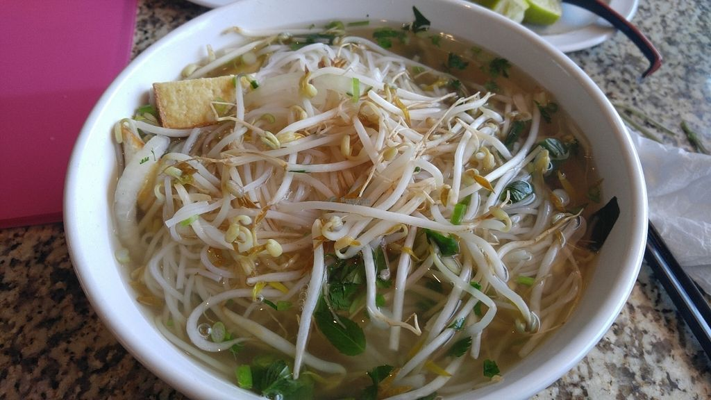 "Photo of Pho Pier 77  by <a href=""/members/profile/JuanitaChanMi"">JuanitaChanMi</a> <br/>Vegetable Fried Tofu Pho <br/> September 8, 2016  - <a href='/contact/abuse/image/79744/174330'>Report</a>"