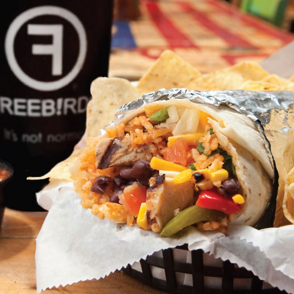"Photo of Freebirds World Burrito  by <a href=""/members/profile/ashleycrowder"">ashleycrowder</a> <br/>  <br/> June 6, 2017  - <a href='/contact/abuse/image/79765/266351'>Report</a>"