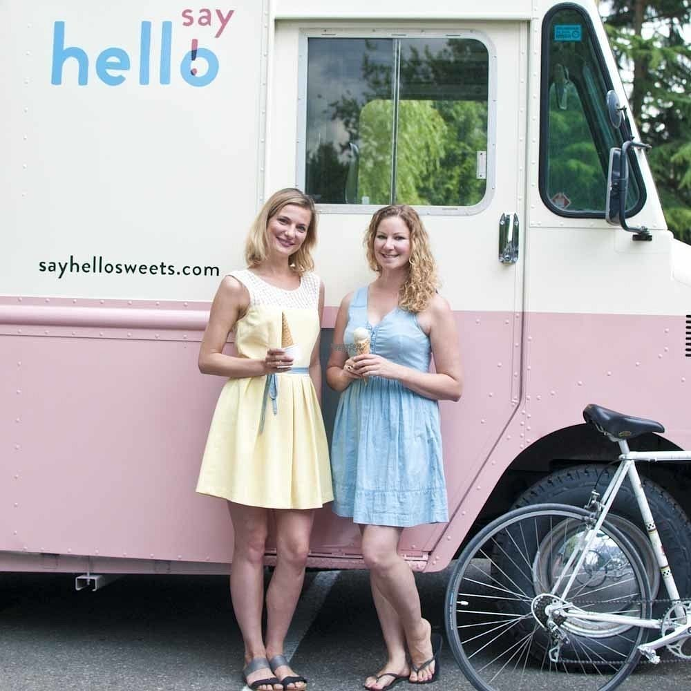"""Photo of Say Hello Sweets  by <a href=""""/members/profile/aspotlessfuture"""">aspotlessfuture</a> <br/>Say Hello truck <br/> September 7, 2016  - <a href='/contact/abuse/image/79774/174179'>Report</a>"""