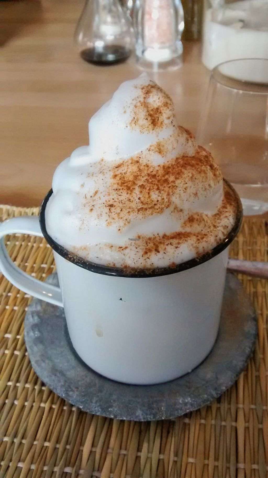 """Photo of Joy Healthyfood  by <a href=""""/members/profile/JonJon"""">JonJon</a> <br/>Chai latte with coconut milk <br/> December 8, 2016  - <a href='/contact/abuse/image/79775/198270'>Report</a>"""