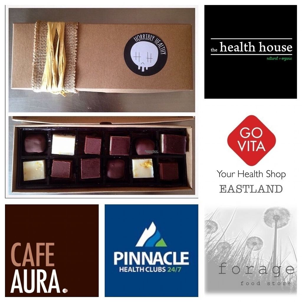 """Photo of Horribly Healthy  by <a href=""""/members/profile/Yawgnorwspoow"""">Yawgnorwspoow</a> <br/>Meet our RAWsome friends!  Small businesses supporting eachother is what we are all about :) These are our current stockists, check them out and give them a high five! <br/> September 10, 2016  - <a href='/contact/abuse/image/79820/174892'>Report</a>"""