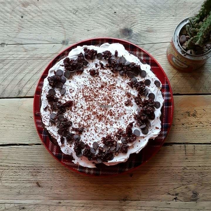 """Photo of Somewhere Else Coffee House & Bakery  by <a href=""""/members/profile/Katiescott"""">Katiescott</a> <br/>Black Forest Cake [vegan]  <br/> September 9, 2016  - <a href='/contact/abuse/image/79821/174512'>Report</a>"""