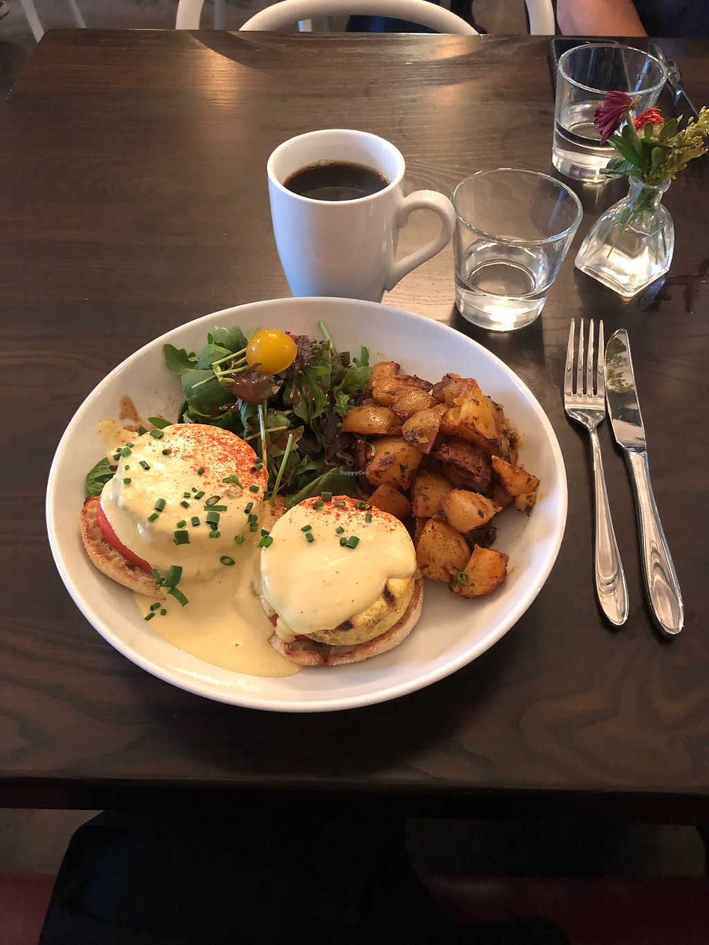 """Photo of Modern Love Brooklyn  by <a href=""""/members/profile/Bariann"""">Bariann</a> <br/>Tofu Benedict at Modern Love <br/> October 17, 2017  - <a href='/contact/abuse/image/79835/316137'>Report</a>"""