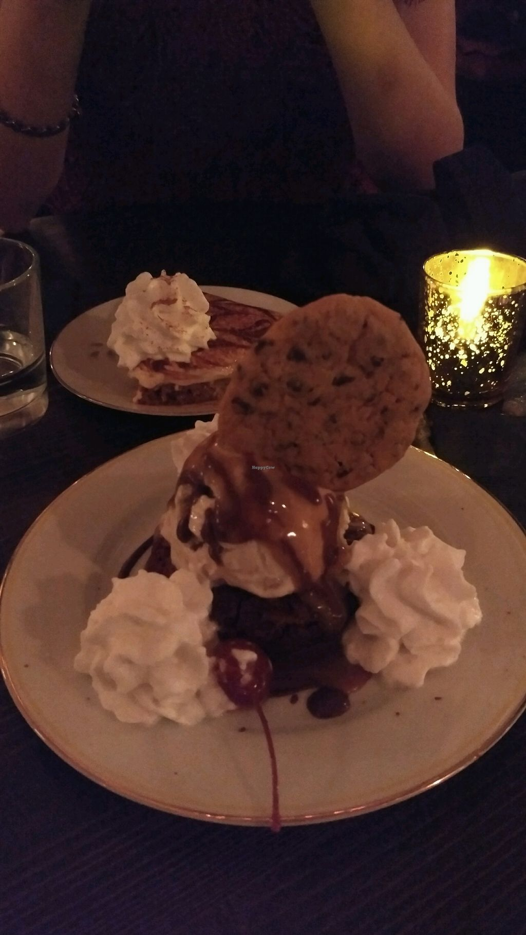 """Photo of Modern Love Brooklyn  by <a href=""""/members/profile/Cam"""">Cam</a> <br/>Brownie and tiramisu pie <br/> November 5, 2017  - <a href='/contact/abuse/image/79835/322089'>Report</a>"""