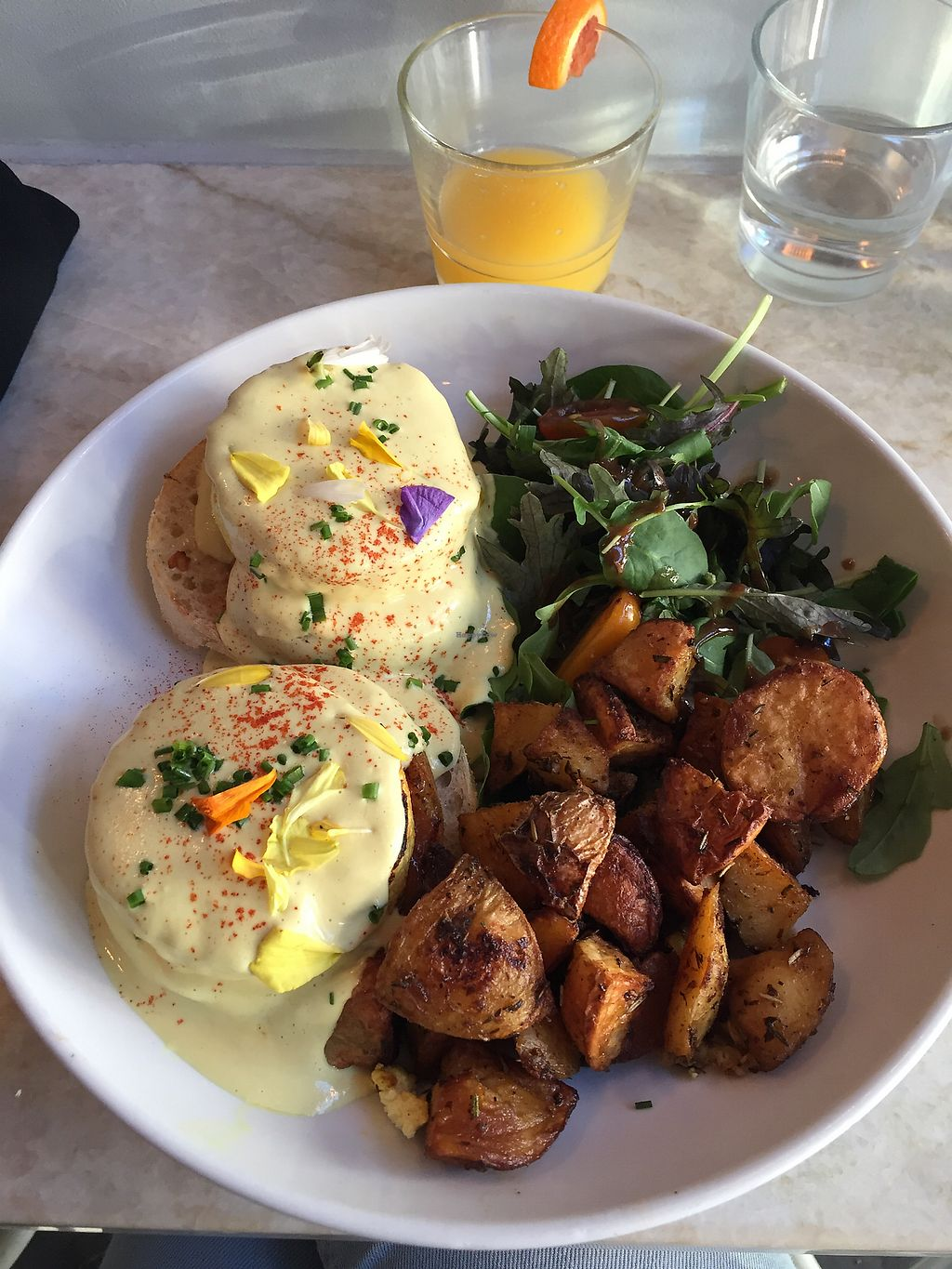 """Photo of Modern Love Brooklyn  by <a href=""""/members/profile/drstina"""">drstina</a> <br/>Tofu Benedict <br/> November 20, 2017  - <a href='/contact/abuse/image/79835/327383'>Report</a>"""