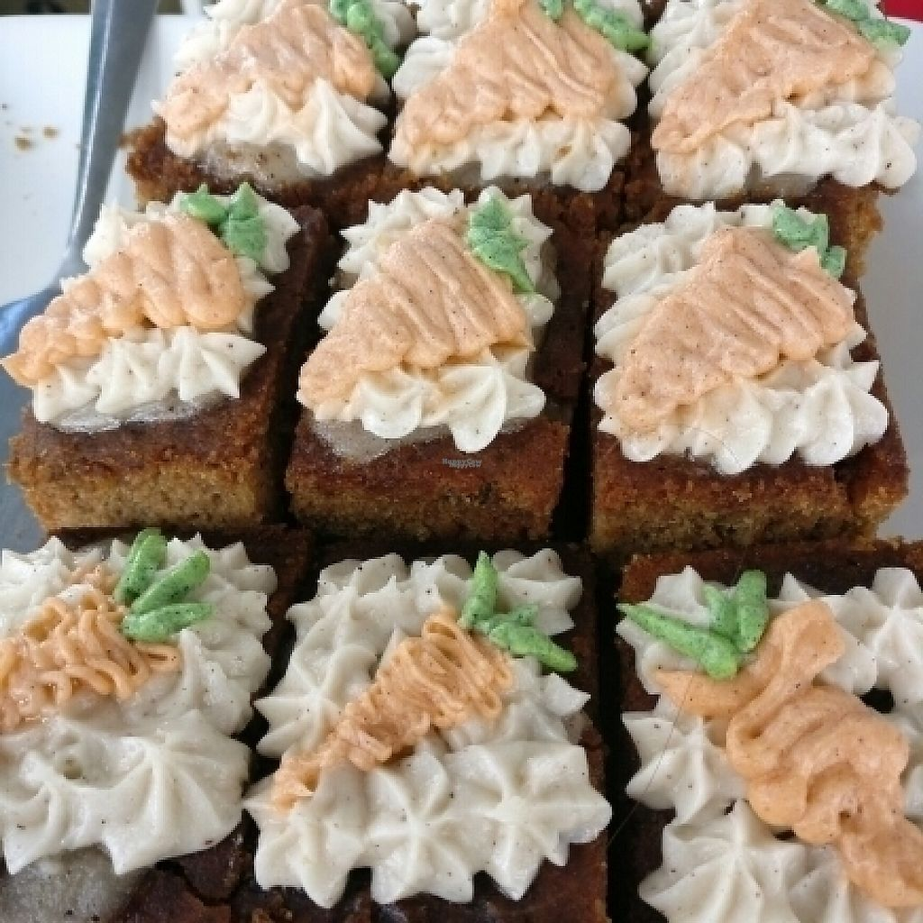 """Photo of Von's Vegan Bake House  by <a href=""""/members/profile/Aloo"""">Aloo</a> <br/>carrot cake <br/> November 13, 2016  - <a href='/contact/abuse/image/79860/189269'>Report</a>"""