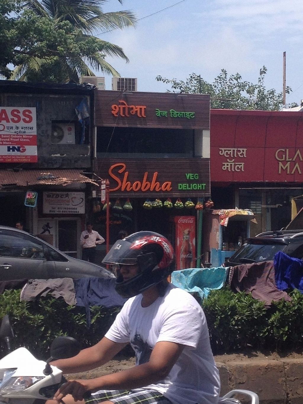 """Photo of Shobha Veg Delight  by <a href=""""/members/profile/vegan_ryan"""">vegan_ryan</a> <br/>View from the street <br/> September 9, 2016  - <a href='/contact/abuse/image/79871/174640'>Report</a>"""