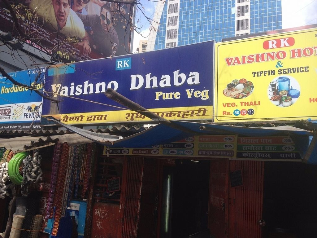 """Photo of Vaishno Dhaba Pure Veg  by <a href=""""/members/profile/vegan_ryan"""">vegan_ryan</a> <br/>Exterior <br/> September 9, 2016  - <a href='/contact/abuse/image/79872/174621'>Report</a>"""