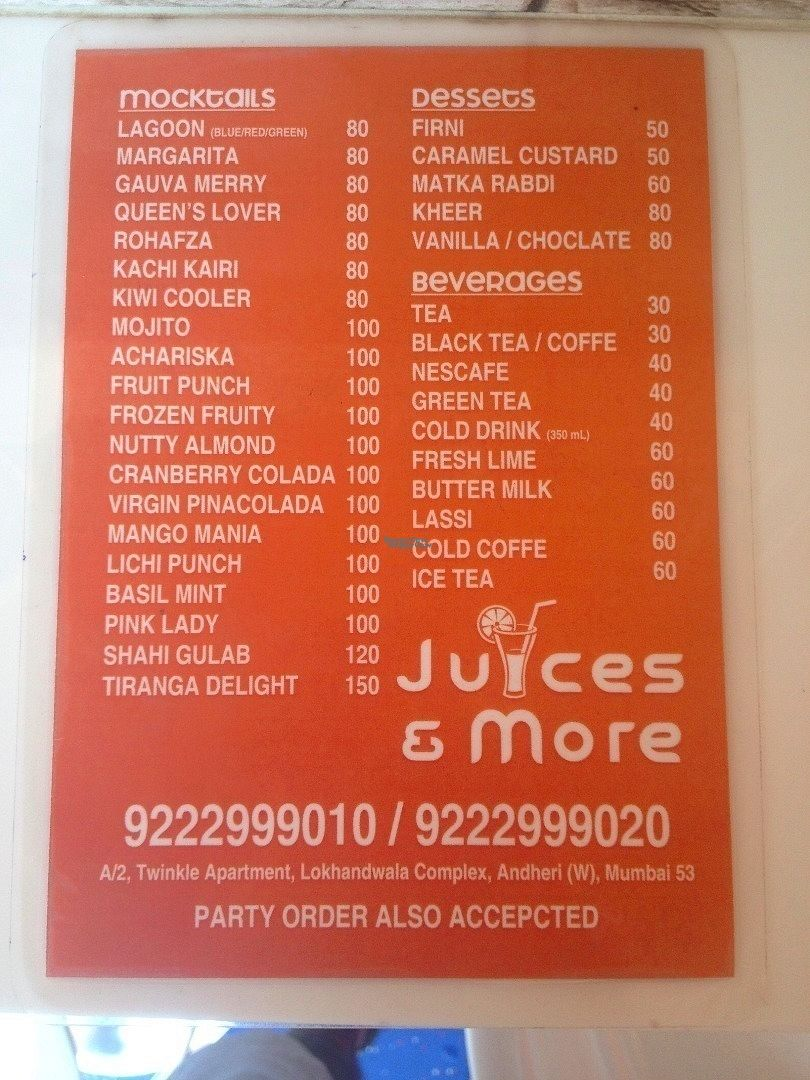 """Photo of Juices & More  by <a href=""""/members/profile/vegan_ryan"""">vegan_ryan</a> <br/>Menu <br/> September 9, 2016  - <a href='/contact/abuse/image/79875/174642'>Report</a>"""