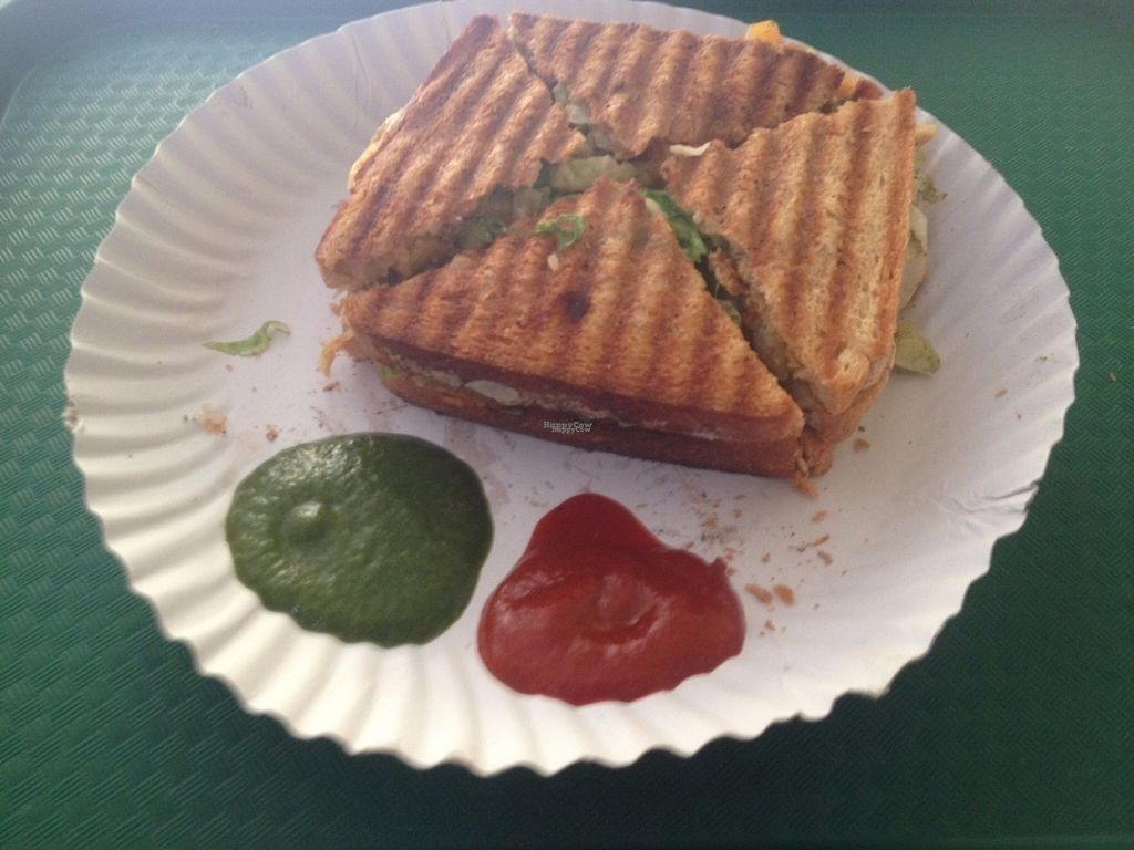 """Photo of Sandwizza  by <a href=""""/members/profile/vegan_ryan"""">vegan_ryan</a> <br/>Tandoori grilled sandwich <br/> September 9, 2016  - <a href='/contact/abuse/image/79876/174637'>Report</a>"""