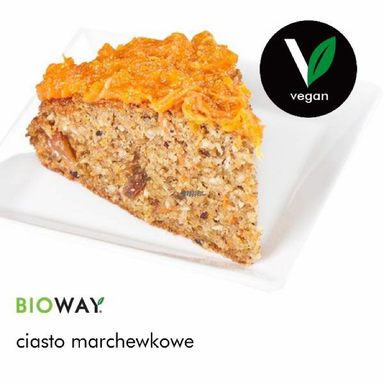 "Photo of Bioway - Central Station  by <a href=""/members/profile/Vera%20Peres"">Vera Peres</a> <br/>vegan carrot cake <br/> September 13, 2016  - <a href='/contact/abuse/image/79882/175509'>Report</a>"
