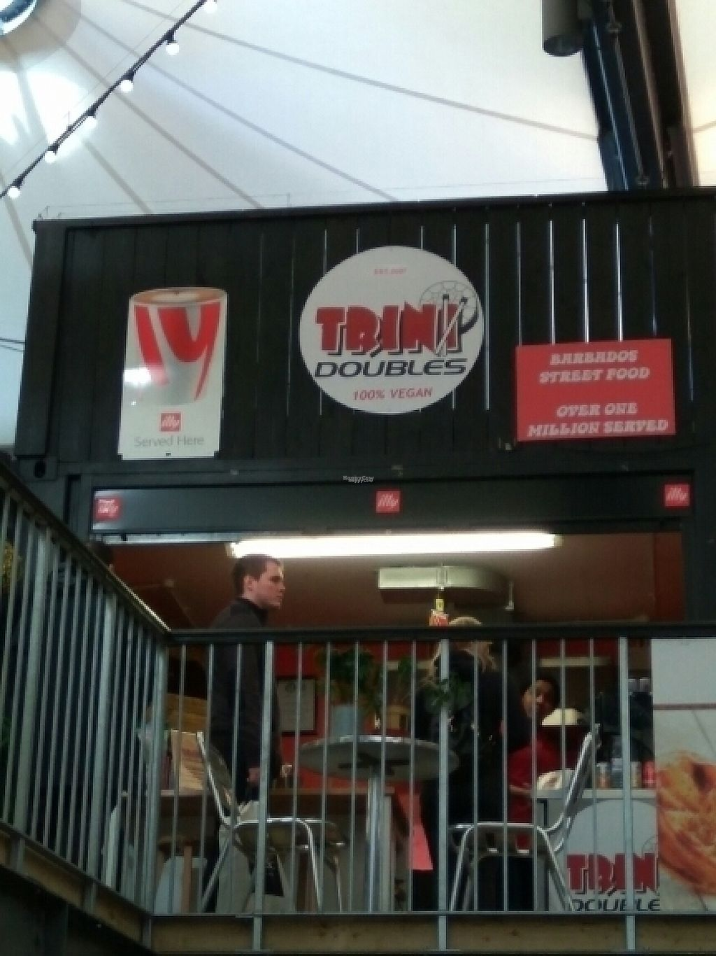"""Photo of CLOSED: Trini Doubles  by <a href=""""/members/profile/Miggi"""">Miggi</a> <br/>view from downstairs in market <br/> February 4, 2017  - <a href='/contact/abuse/image/79933/222007'>Report</a>"""