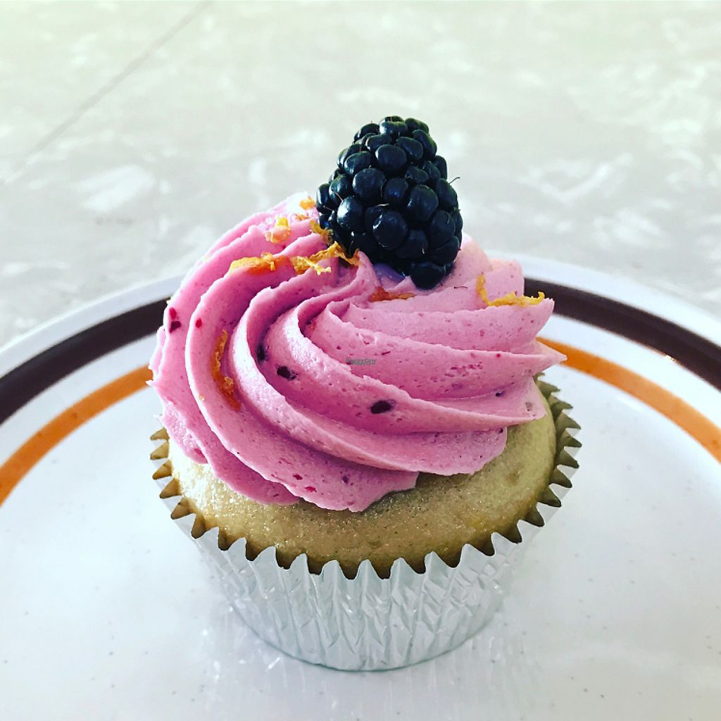 """Photo of Flora Kitchenette  by <a href=""""/members/profile/aprilf"""">aprilf</a> <br/>Blackberry cupcake <br/> February 26, 2017  - <a href='/contact/abuse/image/79939/230466'>Report</a>"""