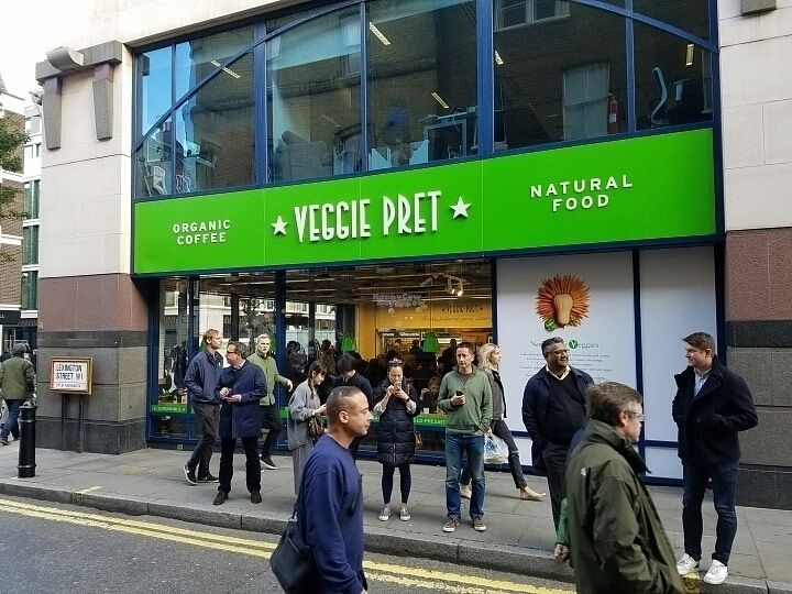 "Photo of Veggie Pret - Broadwick St  by <a href=""/members/profile/kenvegan"">kenvegan</a> <br/>outside <br/> October 6, 2016  - <a href='/contact/abuse/image/79977/180052'>Report</a>"