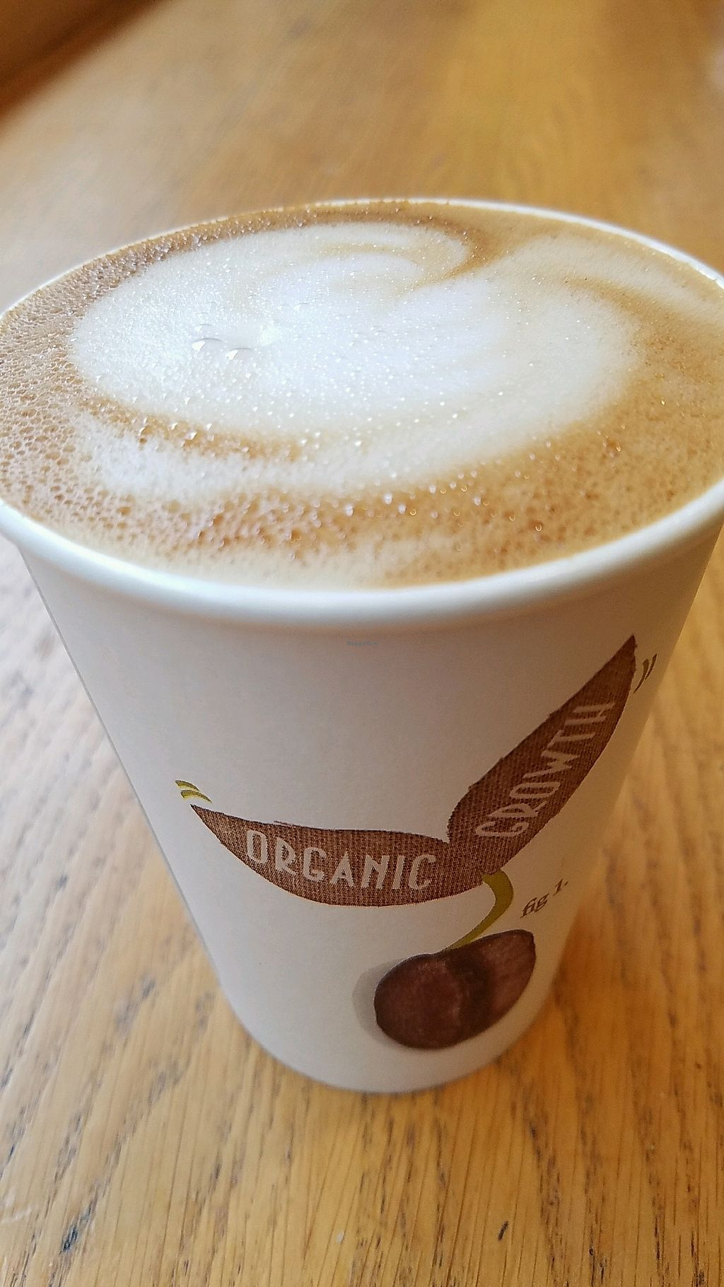 "Photo of Veggie Pret - Broadwick St  by <a href=""/members/profile/eric"">eric</a> <br/>coconut latte <br/> October 23, 2017  - <a href='/contact/abuse/image/79977/318000'>Report</a>"
