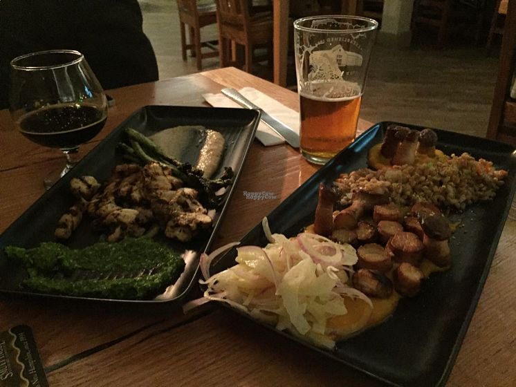 """Photo of Hayseed  by <a href=""""/members/profile/CathyDavid"""">CathyDavid</a> <br/>mushroom entrees, can't wait to go back! <br/> October 8, 2016  - <a href='/contact/abuse/image/80020/180682'>Report</a>"""