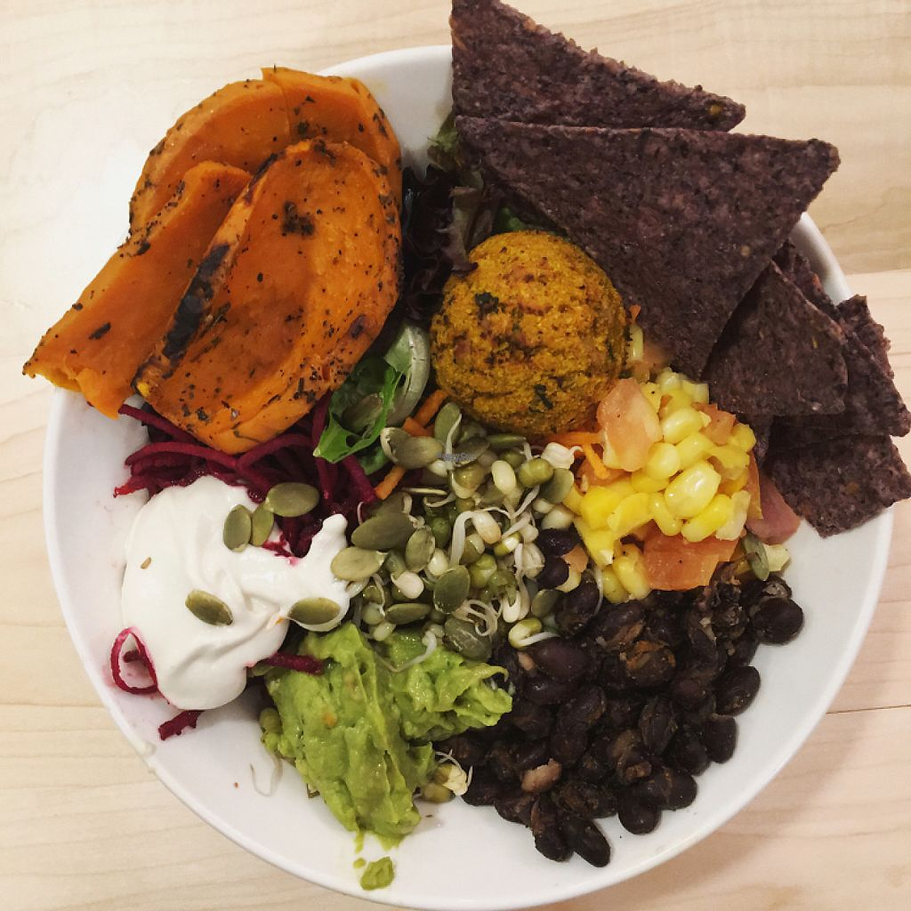 """Photo of Copper Branch  by <a href=""""/members/profile/jennabarrett"""">jennabarrett</a> <br/>Aztec bowl. Very tasty! <br/> January 14, 2017  - <a href='/contact/abuse/image/80030/211811'>Report</a>"""