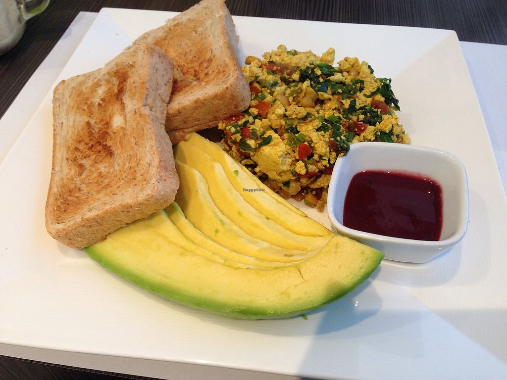 "Photo of Vermet  by <a href=""/members/profile/Sezbakes"">Sezbakes</a> <br/>tofu scramble <br/> June 25, 2017  - <a href='/contact/abuse/image/80066/273177'>Report</a>"