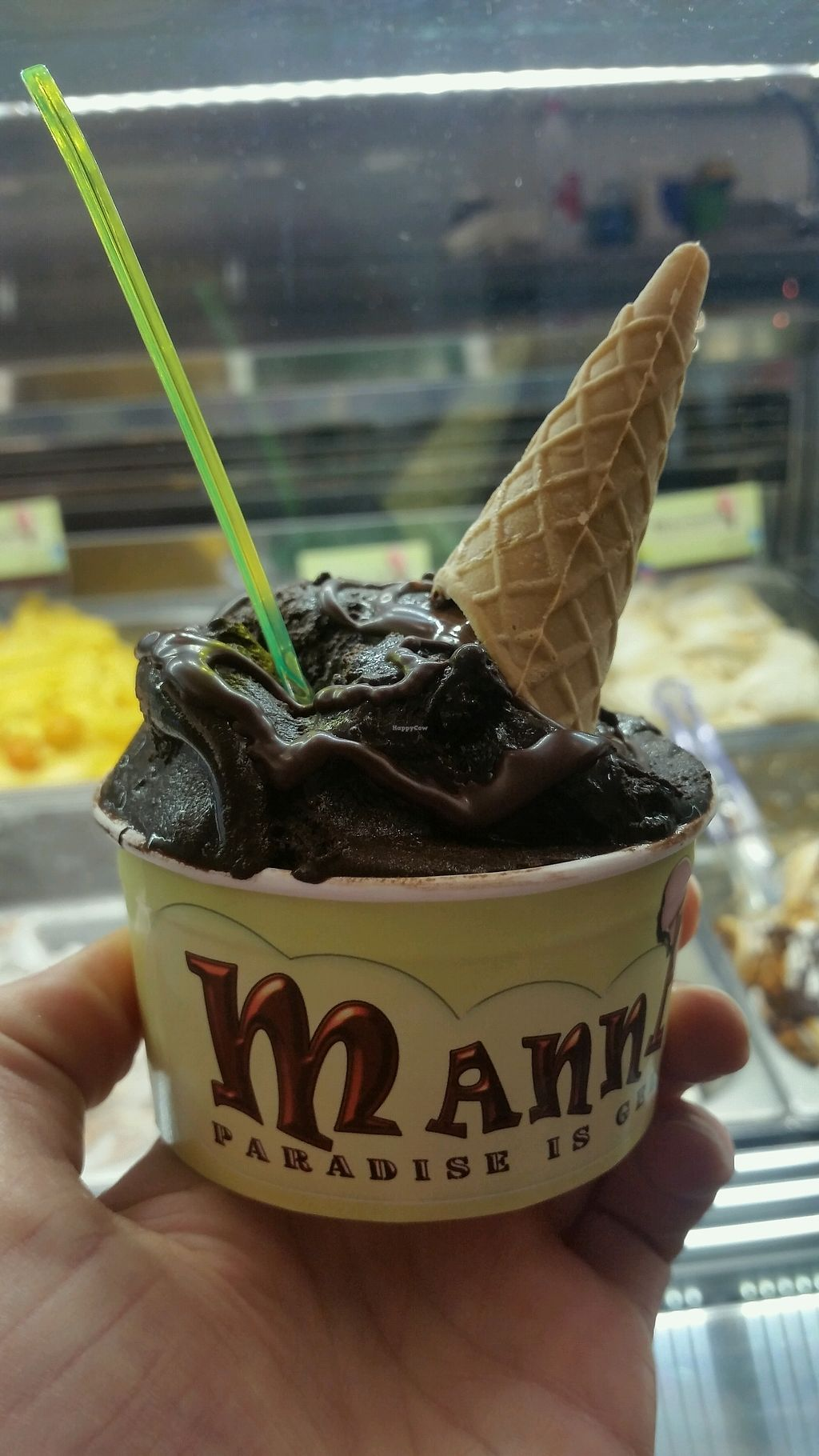"Photo of Manna Gelats  by <a href=""/members/profile/AthenaTrombly"">AthenaTrombly</a> <br/>Chocolate gelato  <br/> March 17, 2018  - <a href='/contact/abuse/image/80072/371859'>Report</a>"