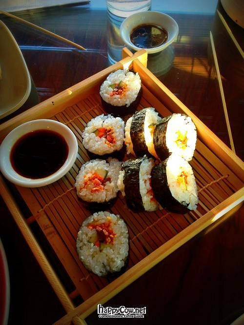 """Photo of Zen Gardens - Moncton  by <a href=""""/members/profile/TrayLanna"""">TrayLanna</a> <br/>Veggie Sushie <br/> June 11, 2012  - <a href='/contact/abuse/image/8007/33216'>Report</a>"""
