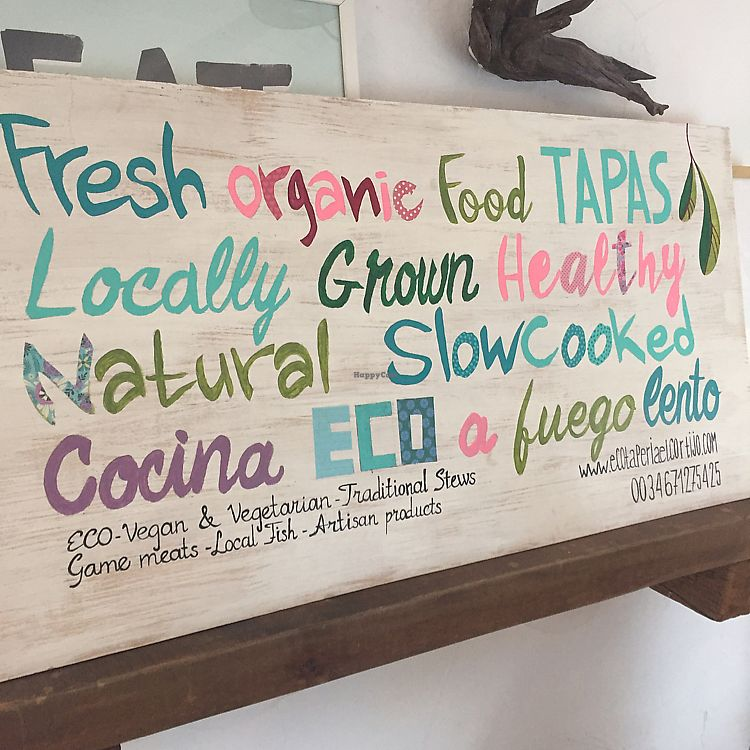 "Photo of EcoTaperia El Cortijo  by <a href=""/members/profile/JudyNadel"">JudyNadel</a> <br/>Organic locally grown food  <br/> July 24, 2017  - <a href='/contact/abuse/image/80099/284389'>Report</a>"