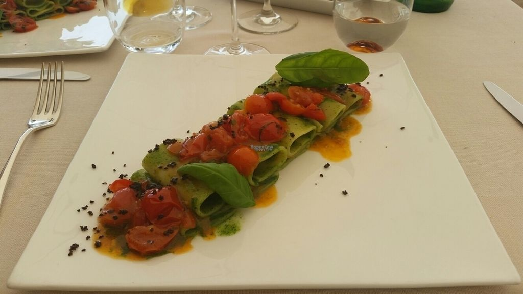 """Photo of La Terrazza  by <a href=""""/members/profile/Labarban"""">Labarban</a> <br/>Paccheri pasta without mozzarella <br/> September 14, 2016  - <a href='/contact/abuse/image/80104/175672'>Report</a>"""