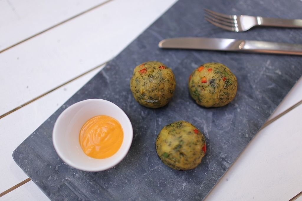 "Photo of Juna's  by <a href=""/members/profile/FedByJM"">FedByJM</a> <br/>Veggie Balls <br/> December 21, 2016  - <a href='/contact/abuse/image/80110/203866'>Report</a>"