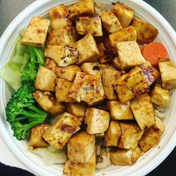"Photo of Flame Broiler  by <a href=""/members/profile/community"">community</a> <br/>tofu dish  <br/> September 23, 2016  - <a href='/contact/abuse/image/80124/177567'>Report</a>"