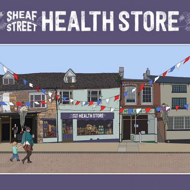 """Photo of Sheaf Street Health Store  by <a href=""""/members/profile/LouiseVictoriaHiggs"""">LouiseVictoriaHiggs</a> <br/>Sheaf Street Health Store  <br/> October 6, 2016  - <a href='/contact/abuse/image/80125/180096'>Report</a>"""