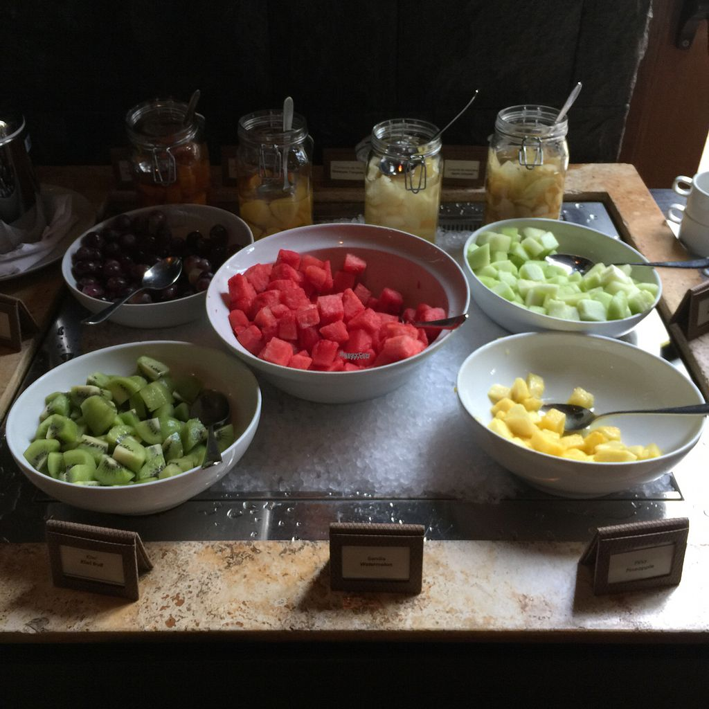 """Photo of Hawa - Tambo del Inka  by <a href=""""/members/profile/earthville"""">earthville</a> <br/>Fruit selection at breakfast buffet <br/> September 16, 2016  - <a href='/contact/abuse/image/80135/176116'>Report</a>"""
