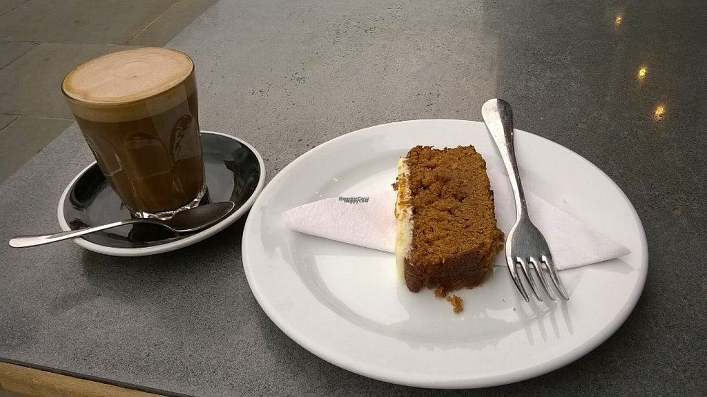 """Photo of CLOSED: Love and Scandal  by <a href=""""/members/profile/Katerinasdream"""">Katerinasdream</a> <br/>Mocha with oat milk and pumpkin spice cake! <br/> October 30, 2016  - <a href='/contact/abuse/image/80159/185402'>Report</a>"""