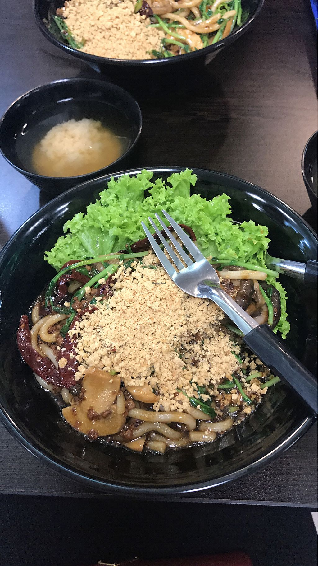 """Photo of CLOSED: Vegandeli  by <a href=""""/members/profile/NataliaYang"""">NataliaYang</a> <br/>yummy fried seafood udon! *thumb up* <br/> August 23, 2017  - <a href='/contact/abuse/image/80167/296162'>Report</a>"""