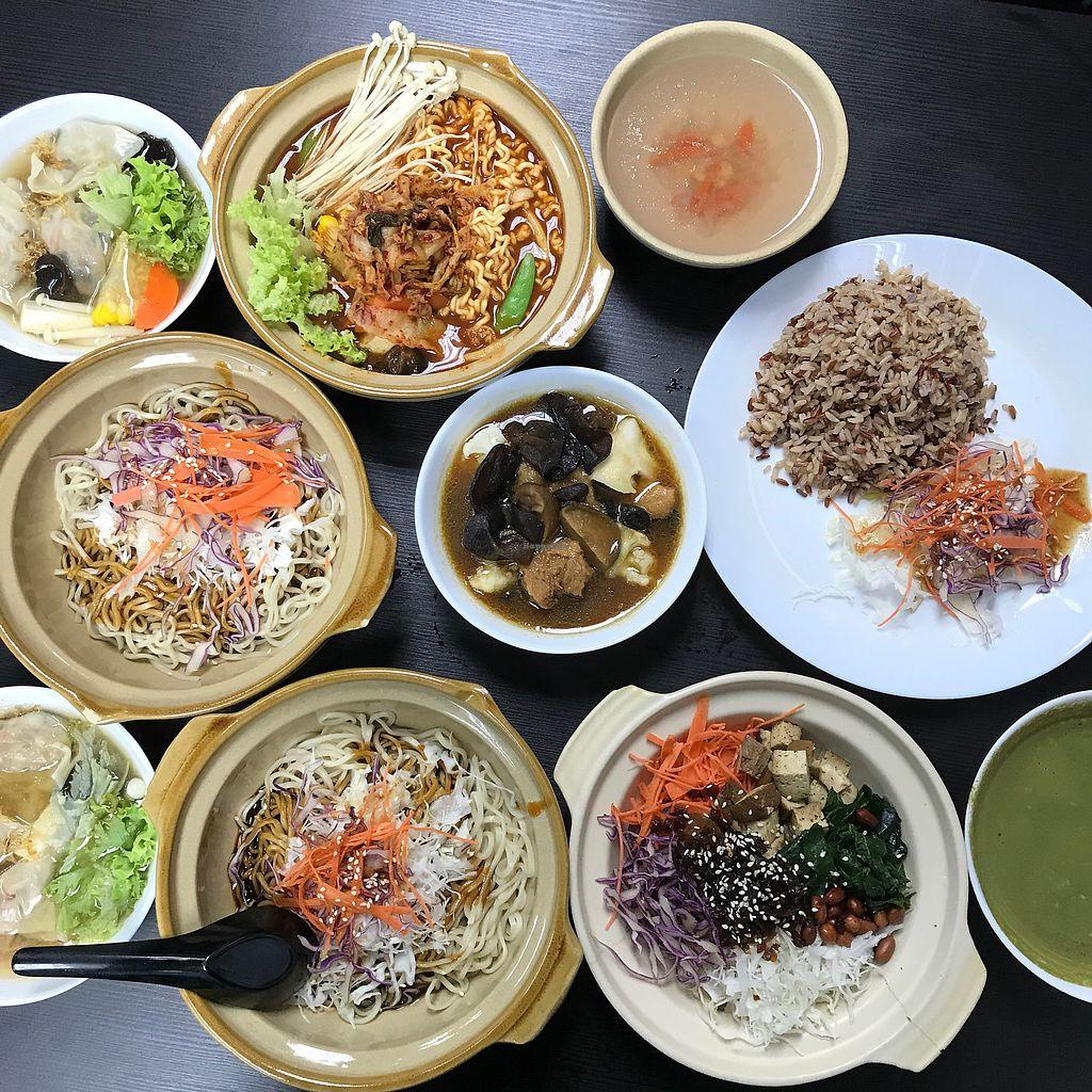 "Photo of CLOSED: Vegandeli  by <a href=""/members/profile/Sweetveganneko"">Sweetveganneko</a> <br/>Dumpling noodles, lei Cha, claypot with rice, kimchi ramen <br/> January 31, 2018  - <a href='/contact/abuse/image/80167/353123'>Report</a>"