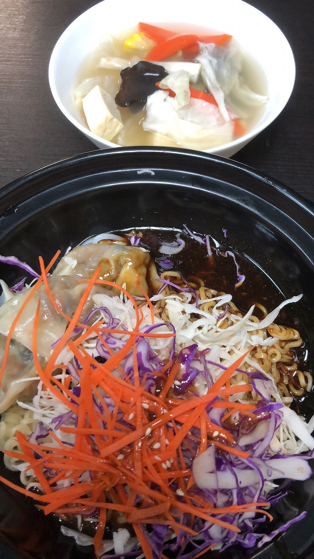 """Photo of CLOSED: Vegandeli  by <a href=""""/members/profile/AmyLeySzeThoo"""">AmyLeySzeThoo</a> <br/>Dry Dumpling Noodle <br/> March 16, 2018  - <a href='/contact/abuse/image/80167/371333'>Report</a>"""