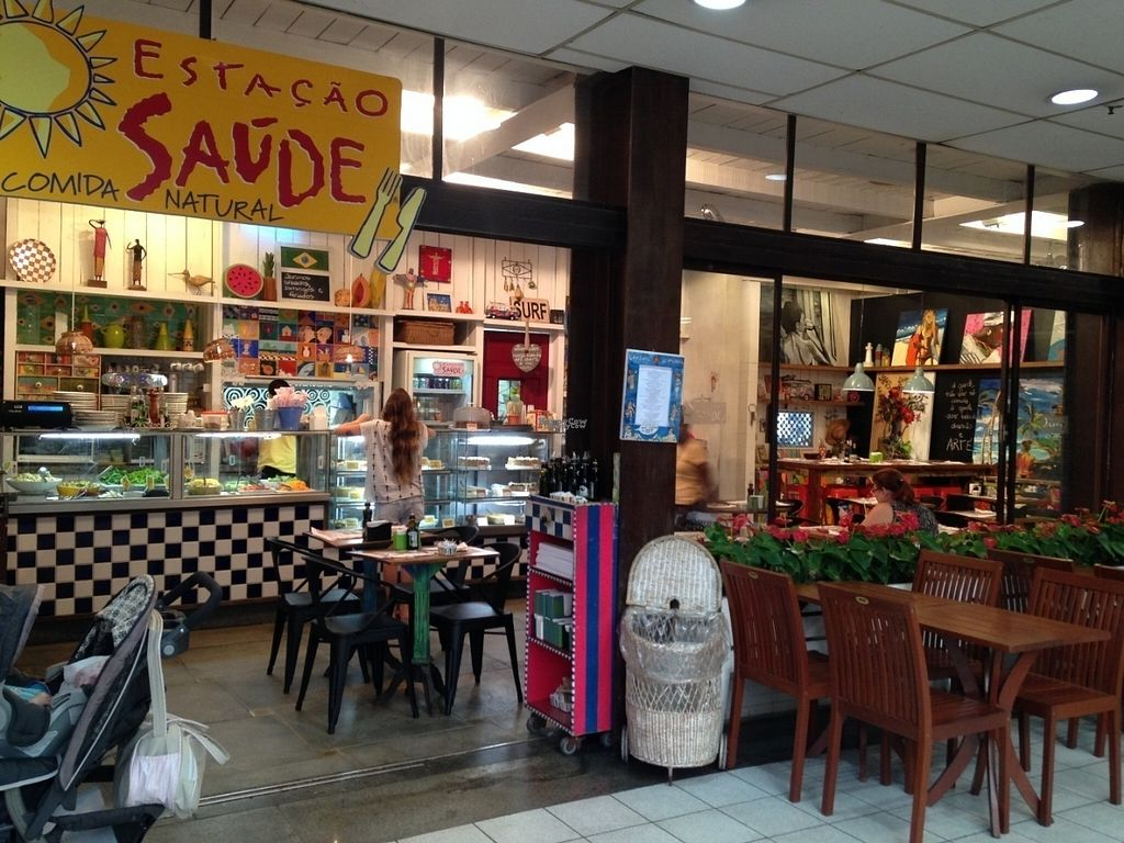 "Photo of Estacao Saude  by <a href=""/members/profile/GabrielaLobo"">GabrielaLobo</a> <br/>We have natural food, art and a fun place to have a real good meal ! You are welcome !  <br/> September 22, 2016  - <a href='/contact/abuse/image/80170/177463'>Report</a>"