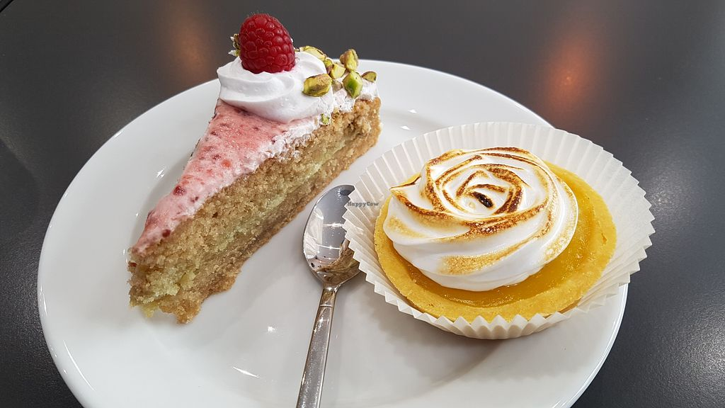 "Photo of Cloud Cakes  by <a href=""/members/profile/JonJon"">JonJon</a> <br/>Lemon pie and raspberry cake <br/> April 19, 2018  - <a href='/contact/abuse/image/80175/388172'>Report</a>"