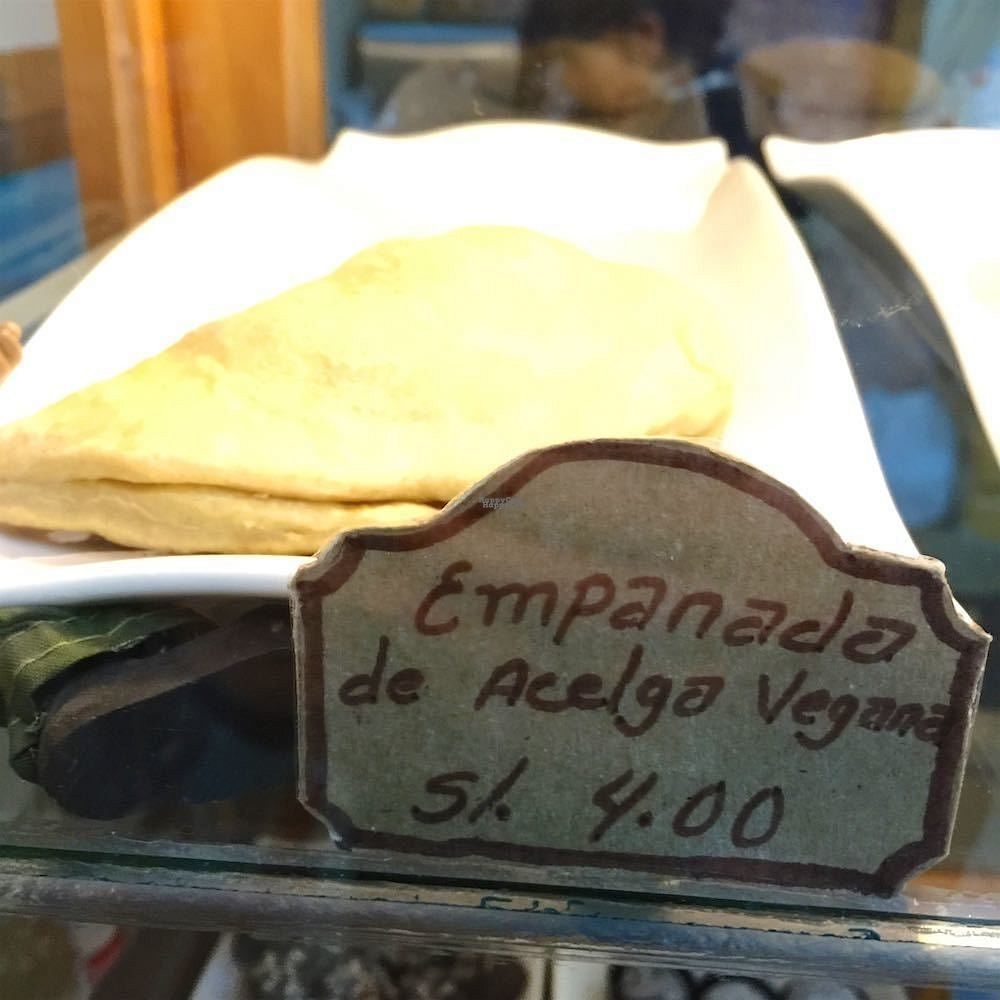"""Photo of El Eden  by <a href=""""/members/profile/earthville"""">earthville</a> <br/>Vegan empanadas <br/> September 19, 2016  - <a href='/contact/abuse/image/80179/176756'>Report</a>"""
