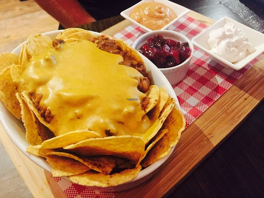 """Photo of CLOSED: The Snug Public House St Kilda  by <a href=""""/members/profile/karlaess"""">karlaess</a> <br/>Vegan nachos <br/> December 2, 2016  - <a href='/contact/abuse/image/80180/196503'>Report</a>"""