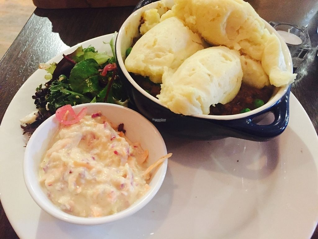 """Photo of CLOSED: The Snug Public House St Kilda  by <a href=""""/members/profile/karlaess"""">karlaess</a> <br/>Vegan cottage pie <br/> December 2, 2016  - <a href='/contact/abuse/image/80180/196504'>Report</a>"""