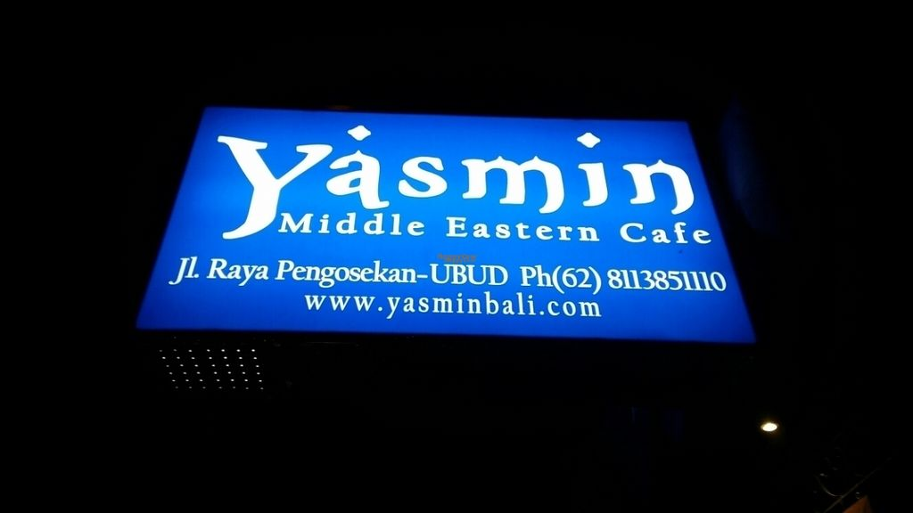"""Photo of Yasmin Middle Eastern Cafe  by <a href=""""/members/profile/Mashayla.G"""">Mashayla.G</a> <br/>sign <br/> September 17, 2016  - <a href='/contact/abuse/image/80187/176239'>Report</a>"""