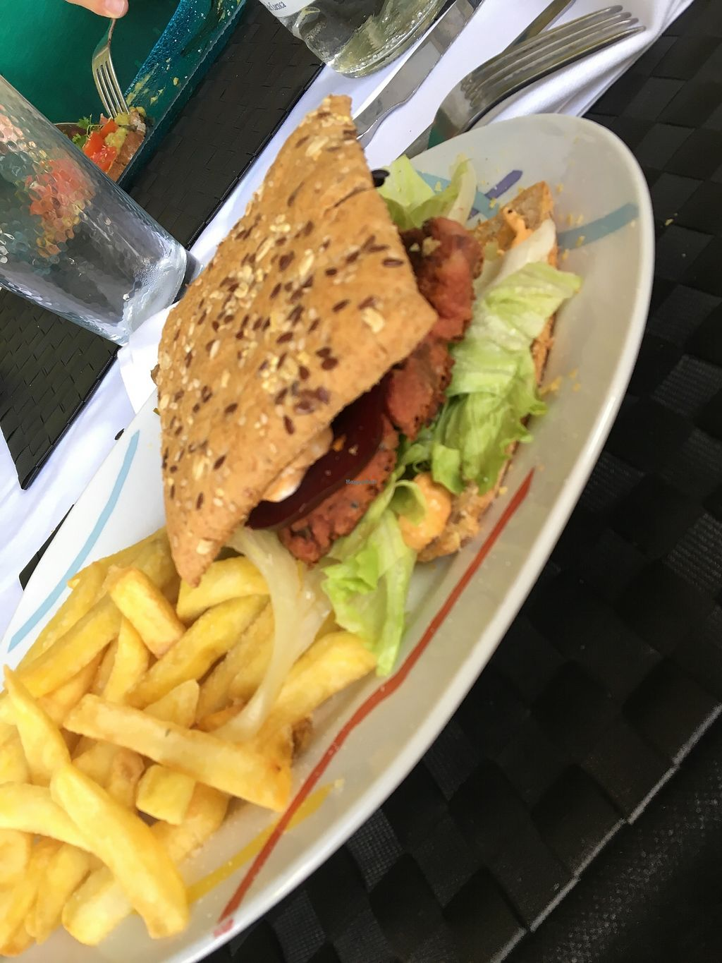"Photo of True To Life  by <a href=""/members/profile/katiemealing"">katiemealing</a> <br/>Seitan burger  <br/> August 6, 2017  - <a href='/contact/abuse/image/80193/289911'>Report</a>"